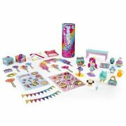 Party Popteenies Party Time Surprise Set With Confetti, Collectible Dolls And...