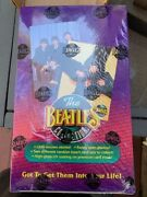 Rare Beatles Collection Trading Cards Store Display, Never Used, And Cards