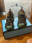Flashtrek Crystal Sneakers Women Size 9 9.5 Euro Size 39.5 Green Sold Out