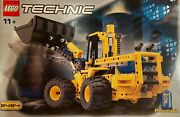 Lego Technic 8464 Pneumatic Front End Loader From 2001 Pristine Nib Sealed Rare