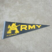 Army Vintage Full Size Pennant 30 Inch 1970's