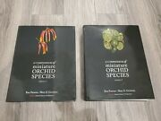 A Compendium Of Miniature Orchid Species First 1st Edition Set Volumes 1 And 2