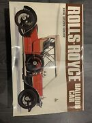 Bandai Rolls Royce Balloon Car 1908 Silver Ghost 1/16 Unassembled Vintage Rare