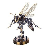 3d Stainless Steel Insects Puzzle Model Kit Diy Mechanical Wasp Assembly Jigsaw