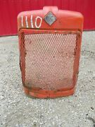 Allis Chalmers D17 Ac Tractor Original Front Nose Cone Grill Assembly W/ Emblem