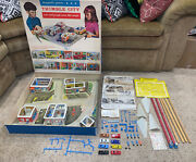 Very Rare 1964 Remco Magnetic Powered Thimble City Style 670 Board Game Toy Box
