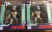Loyal Subjects Predator Guardian With Spear And Battle Damage Predator Lot Of 2