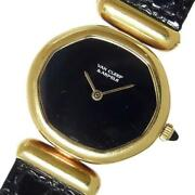 And By Gerald Genta Vintage Model Solid Gold Ladies [e1207]