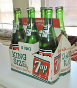 7- Up 6 Pack Unopen Bottles And Carton You Like It And It Likes You Nice