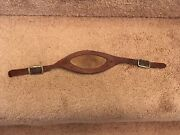 1940s-1950s Leather Football Helmet Chin Strap - Nice Pliable Condition