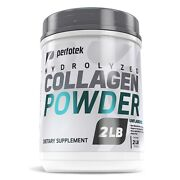 Hydrolyzed Collagen Powder Peptides Type 1 And 3 Easy To Mix High Absorption 2lb