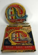 Marx - Shoot The Chutes Pinball Game - In Box. Very Good Condition.