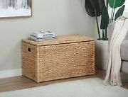 Water Hyacinth Storage Trunk Natural Collectible