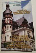 Very Rare Bnr Coin Set 140 Years Since...peles Castle In Sinaia