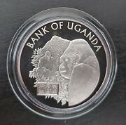 Uganda - Rare Silver Proof 20000 Shillings Coin 2006 Year 40th Anni Independence