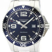 Longines Conquest L3.730.4 Stainless Steel Quartz Menand039s Watch From Japan[b1208]