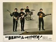 Help The Beatles Complete Set Of 12 Rare Vintage French Lobby Cards 1965