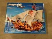 Playmobil Pirates Red Serpent Pirate Ship - Model 5618