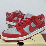 Used Dunk Sb Emb Red Ash Unlv Sneakers 27.5cm World Only 400