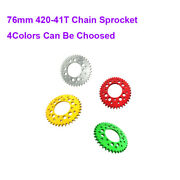 76mm 420-41t Chain Sprocket For 50-190cc Stomp Demon X Wpb Orion M2r Dirt Pit