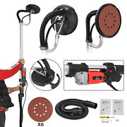 Electric Drywall Sander Adjustable Variable Speed With Sanding Pad 800w Safe