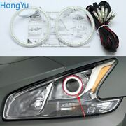 Smd Led Angel Eyes Kit Drl Halo Rings For Nissan Maxima 2010-2012 Accessories