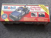 Lot Of 1995 Mobil Collectible Toy Trucks Limited Offer Collectorand039s Edition 124andnbsp
