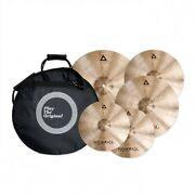 Istanbul Agop Xist Traditional Cymbal Set W/ Free 18in Crash + Case