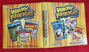 2013 Topps Wacky Packages Ans11 Official Orange Binder  @@ Rare @@