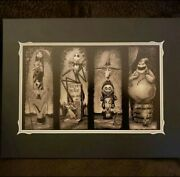 Disneyparks-nightmare Before Christmas Haunted Mansion Stretching Room Print New