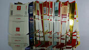 Lot 100 Empty China Hard Cigarette Pack Lables-all Unused