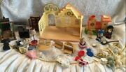 Sylvanian Families Maple Town Play Set Epoch Doll House Furniture Toy From Japan