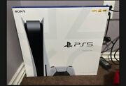 Sony Playstation 5 825gb Video Game Console - White