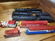 Big Lot Of Vintage Ho Scale Model Train Railroad Cars For Parts Or Repair