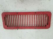 Jeep Wrangler Cj Yj 1987-1995 Exterior Heater Box Grille Oem Jeep Red