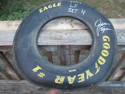 Jimmy Spencer Signed Race Tire Autographed Good Year Eagle Man Cave Wall Hanging