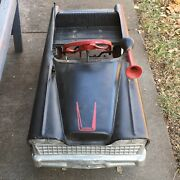 Vintage Murray Sports Pedal Car With Antenna And Horn