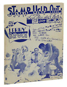 Stamp Help Out By Lenny Bruce First Edition 1962 1st Issue Uncensored Comedy