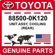 88500-0k120 Toyota Oem Genuine Unit Assy Cooling Rear