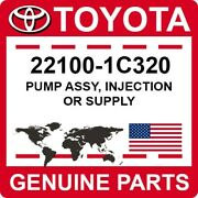 22100-1c320 Toyota Oem Genuine Pump Assy Injection Or Supply