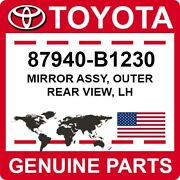 87940-b1230 Toyota Oem Genuine Mirror Assy, Outer Rear View, Lh