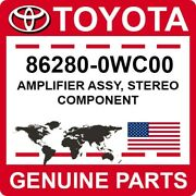 86280-0wc00 Toyota Oem Genuine Amplifier Assy Stereo Component