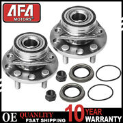 2 Front Wheel Bearing And Hub For 1995 - 2004 2005 Pontiac Sunfire Chevy Cavalier