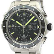 Tag Heuer Aqua Racer Cak2111 Stainless Steel Self-winding Menand039s Watch[b1211]