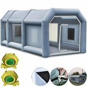 Portable Inflatable Airbrush Car Spray Paint Booth With Carbon Filter Free Shipp