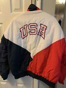 Vintage Usa Olympic Swingster Jacket Bellsouth Mens Xl