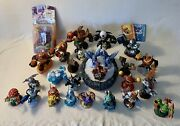 Skylander Giants Lot Of 27 Characters And Bluetooth Portal With Brand New Cynder
