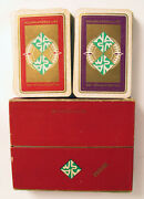 Set Of Playing Cards Holland America Cruise Ship Line Slocum Mansion Newport Ri