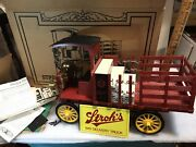 Strohs Beer 1910 Rapid Delivery Truck 125. New In Original Box