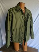Vintage Vietnamarmy Navy Usn Master At Arms Deck Military A2 Field Jacket